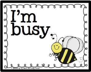 Tớ bận lắm, dạo này tớ rất bận
